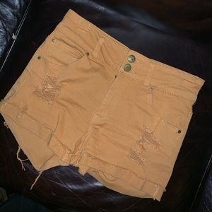 Charlotte Russe/ Refuge High Waisted Shorts!